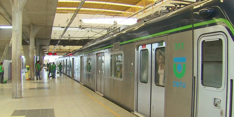 O intervalo entre os trens será de 16 minutos nesse trecho da Linha Centro e de 32 minutos nos ramais Camaragibe e Jaboatão
