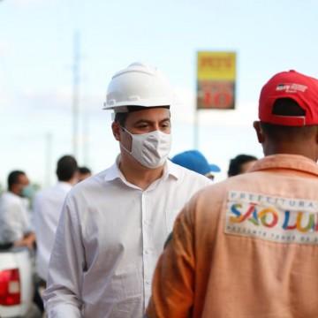Governador Paulo Câmara realiza vistoria em obras no Sertão de PE