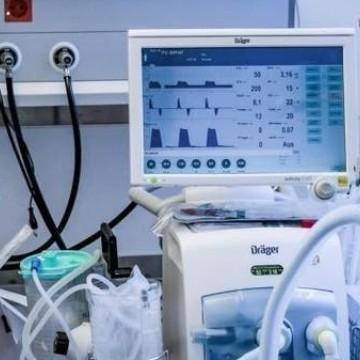 Estado recebe respiradores para hospitais da capital e interior