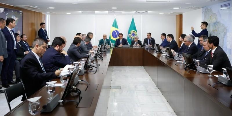 Reunião que abordou a regulamentação da Polícia Penal foi realizada em Brasília nesta quinta-feira (23)