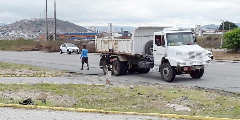 Caminhões, carros e motocicletas foram abordados pelo GFT