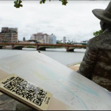 Circuito da Poesia do Recife ganha QR Codes para acesso a conteúdos sobre vida e obra de cada artista