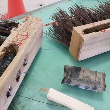 Materiais ilícitos são encontrados em vassouras durante visita ao Presídio de Itaquitinga