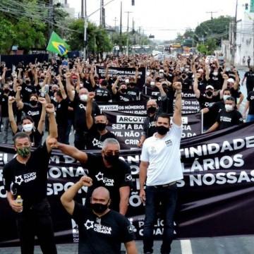 TJPE declara paralisação de policiais civis ilegal