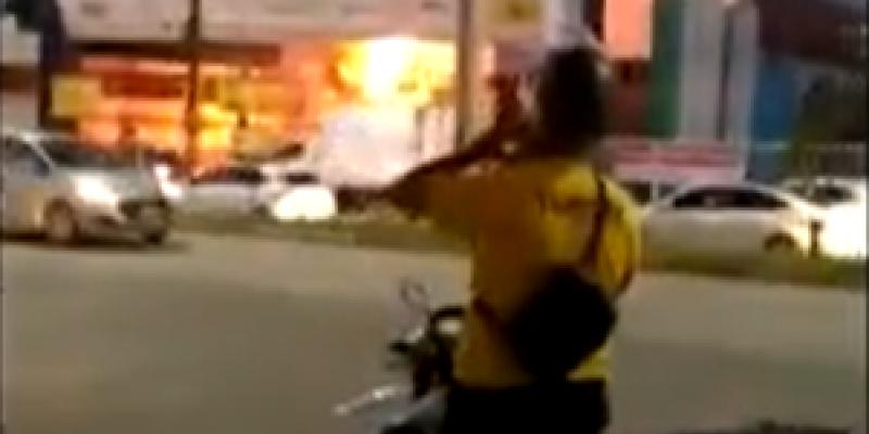 Segundo o Corpo de Bombeiros, apesar das chamas, não houve feridos