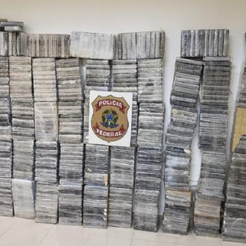 Polícia Federal apreende quantidade recorde de cocaína no estado em 2020