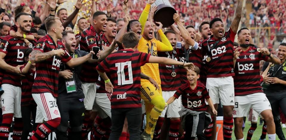 Flamengo é campeão da Copa Libertadores