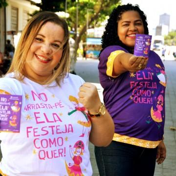 Secretaria da Mulher de Pernambuco lança campanha contra importunação sexual no São João