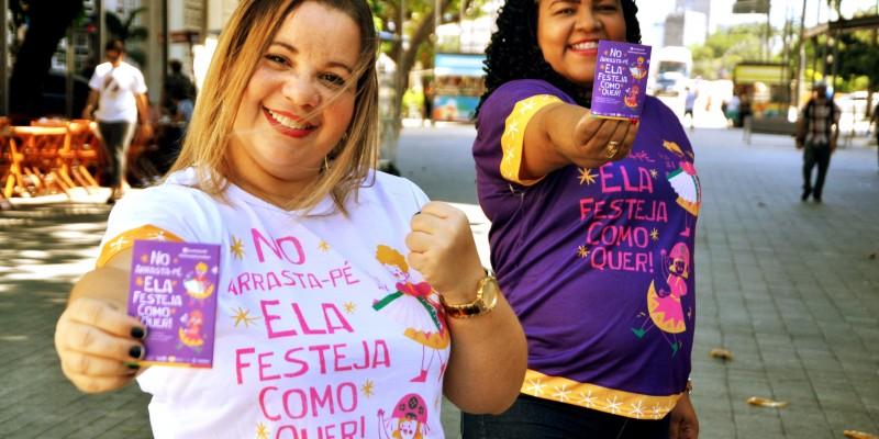 Cerca de duas mil multiplicadoras vão vestir a camisa da campanha nos municípios fazendo a panfletagem do material informativo