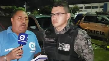 Perseguição policial em Caruaru