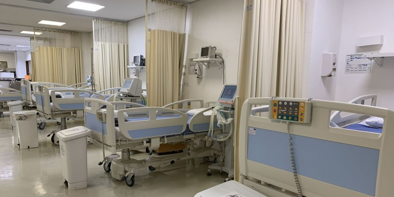 Serão custeados 21.998 leitos para pacientes com covid-19