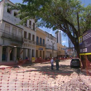 Trechos no entorno do Mercado São José são fechados para veículos