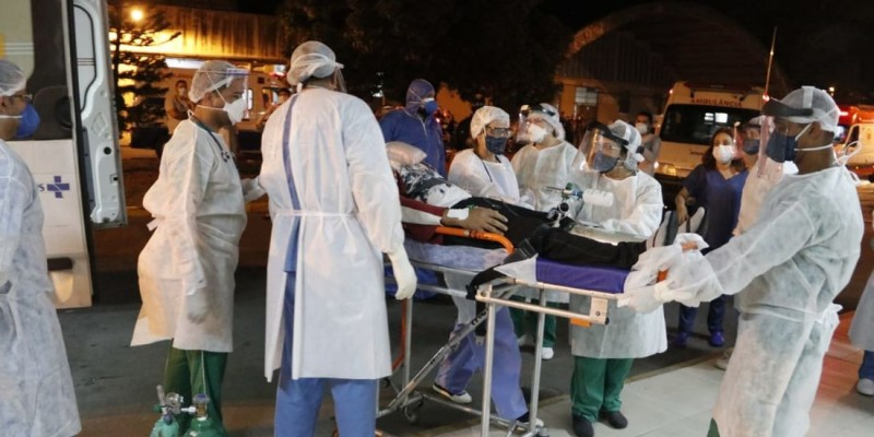 Eles se juntam aos outros cinco pacientes que estão internados no hospital-escola, desde o último sábado (23)