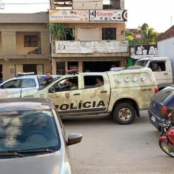 Procurados por assalto aos Correios são presos pela Força Nacional e pela PF em Paulista