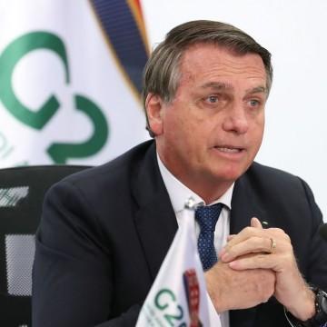 Em discurso ao G20, Bolsonaro defende agricultura