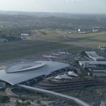 Aeroporto e TIP contam com áreas de embarque e desembarque de transporte por aplicativo