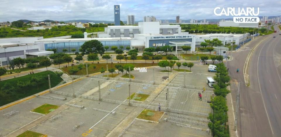 Hospital de campanha para atender pacientes da covid-19 será montado em Caruaru