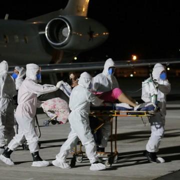 Pacientes com a covid-19 vindos do Amazonas estão em tratamento no Recife