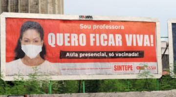 Professores da rede estadual de PE decretam greve para atividades presenciais