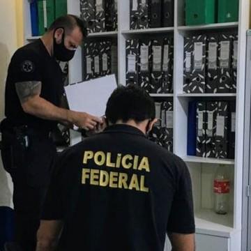 Operação policial mira grupo suspeito de falsificar licitações e prática de corrupção