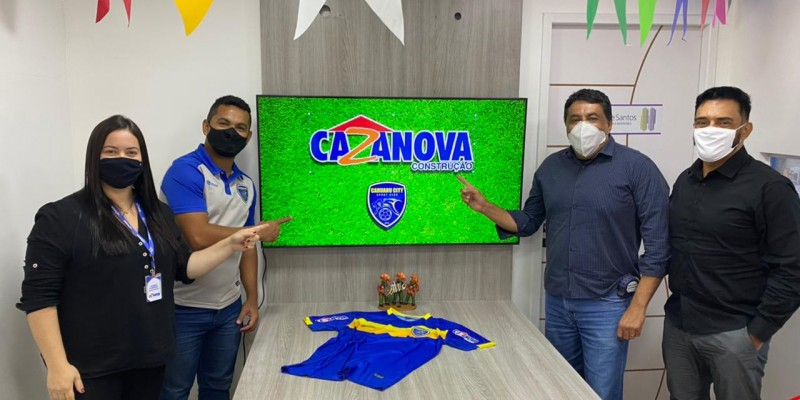 A Cazanova terá sua marca estampada nas mangas da camisa oficial que os atletas profissionais irão usar