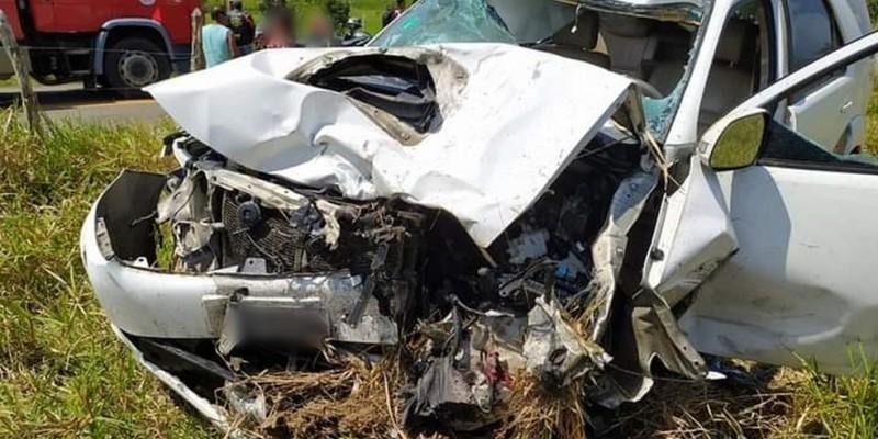 Vereador de Brejo da Madre de Deus, Pedro Marconi de Souza Barros, do PTC, colidiu com cerca de 30 motociclistas em Água Preta, Mata Sul de Pernambuco