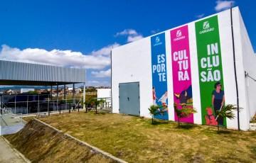 Praça da Cultura é inaugurada em Caruaru