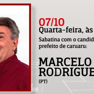 Panorama CBN: Entrevista com o candidato à Prefeito de Caruaru Marcelo Rodrigues (PT)