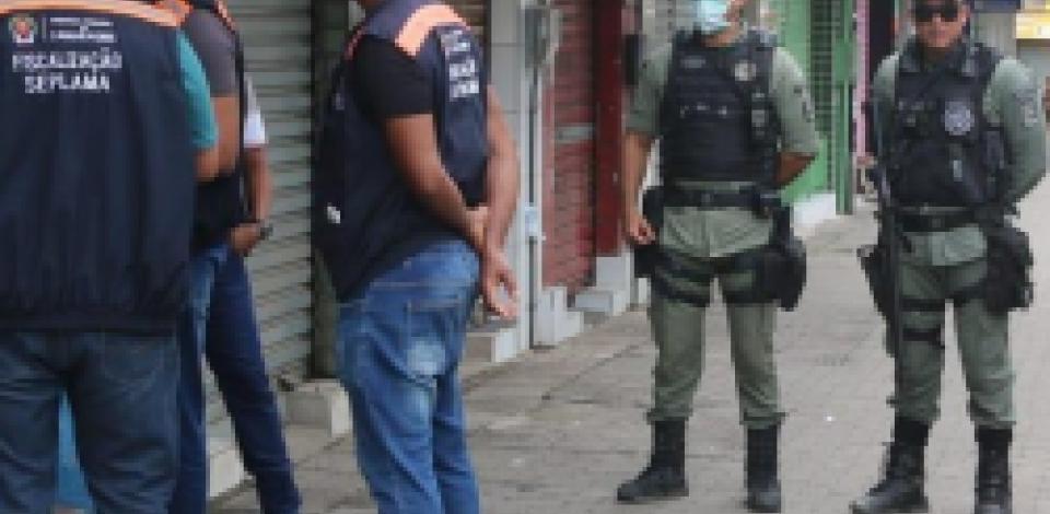 Evitar aglomerações tem sido a maior demanda da Polícia em Pernambuco