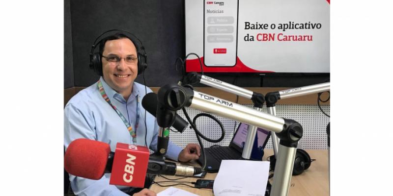 CBN Empreender, economia, CBN Pet, entrevista e o futebol