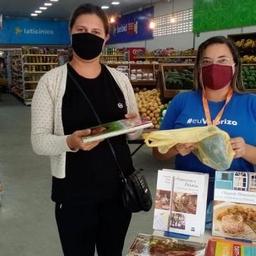 Fecomércio arrecada alimentos para doação