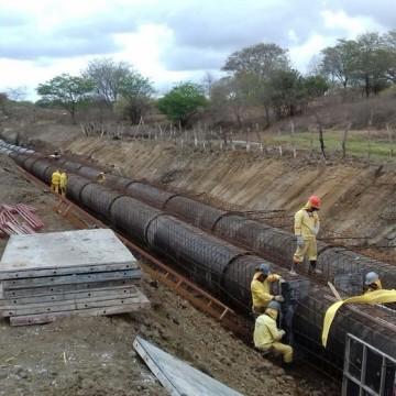 Nova rede de abastecimento em Araçoiaba deve beneficiar cerca de 500 famílias