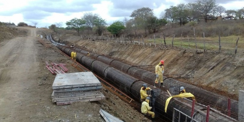 A obra tem a estimativa de investimento de R$ 260 mil e começou a ser realizada em setembro