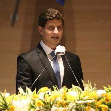 Prefeito João Campos recebe em Recife presidente do G10 Favelas