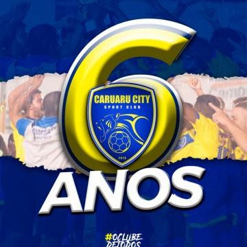Caruaru City comemora seis anos de existência com foco no futebol profissional