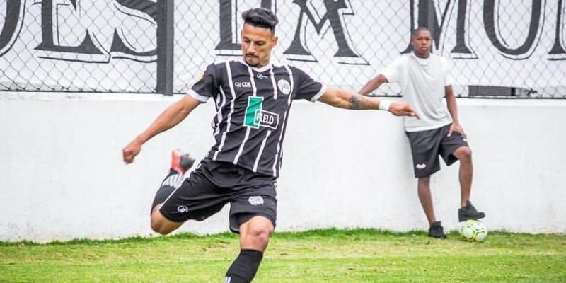 Jogador de 21 anos estava atuando no Amparo-SP, disputando a Segunda Divisão do Campeonato Paulista Sub-23