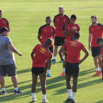 Sport inicia preparação para encarar o Criciúma na Ilha do Retiro