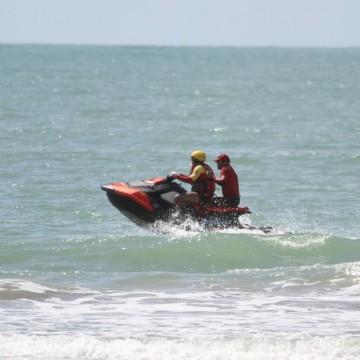 Corpo de bombeiros alerta a população sobre os riscos de afogamento nas praias