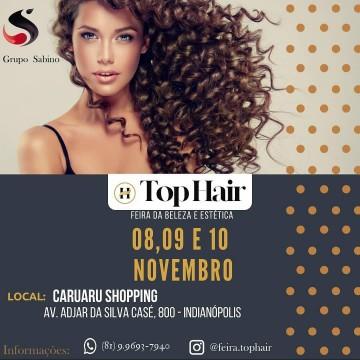 Caruaru recebe a Feira da Beleza e Estética Top Hair