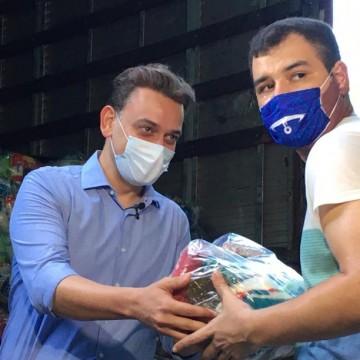 Hapvida doa mais de 58 mil itens alimentícios no Recife para ONG Novo Jeito