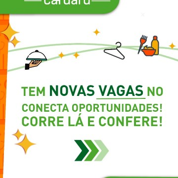 Vagas de emprego para profissionais e jovens aprendizes em Caruaru