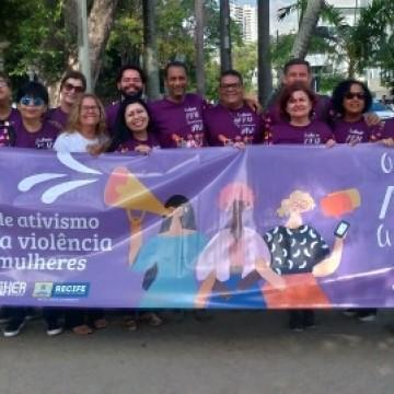 Em PE, campanha promove 16 dias de ativismo pelo fim da violência contra mulheres