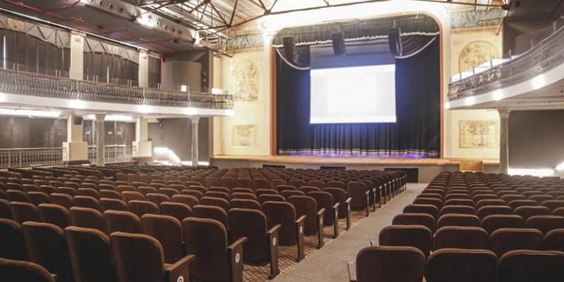 A casa reabre com programação de três dias, contemplando apresentação da Banda Sinfônica, sessão de cinema e espetáculo teatral