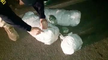 Homem é detido com 11 kg de maconha após sofrer acidente em Caruaru