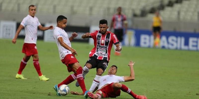 Timbu bateu a equipe do Ferroviário pelo placar de 1x0 com gol de Matheus Carvalho