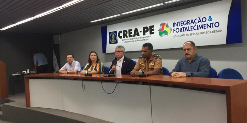 Para o presidente do CREA, o encontro é fundamental para o bom desenvolvimento do trabalho em conjunto em grandes eventos