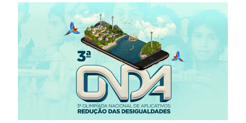 A 3ª edição da Olimpíada, que tem como tema o Desenvolvimento Sustentável e a Redução das Desigualdades