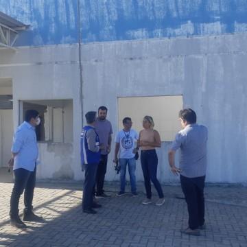 Hospital de campanha da Prefeitura de Goiana ficará pronto em maio