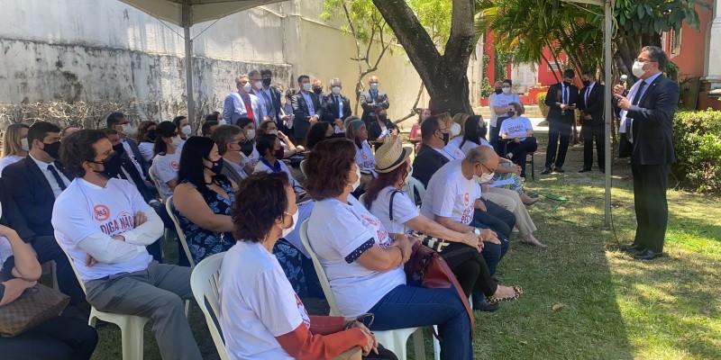 Em Pernambuco, a ação acontece na sede do MPPE