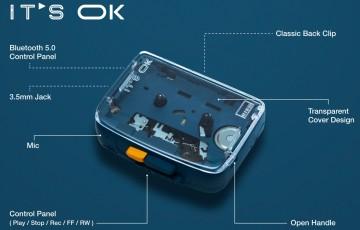 It's Ok é o primeiro toca-fitas portátil com conexão Bluetooth